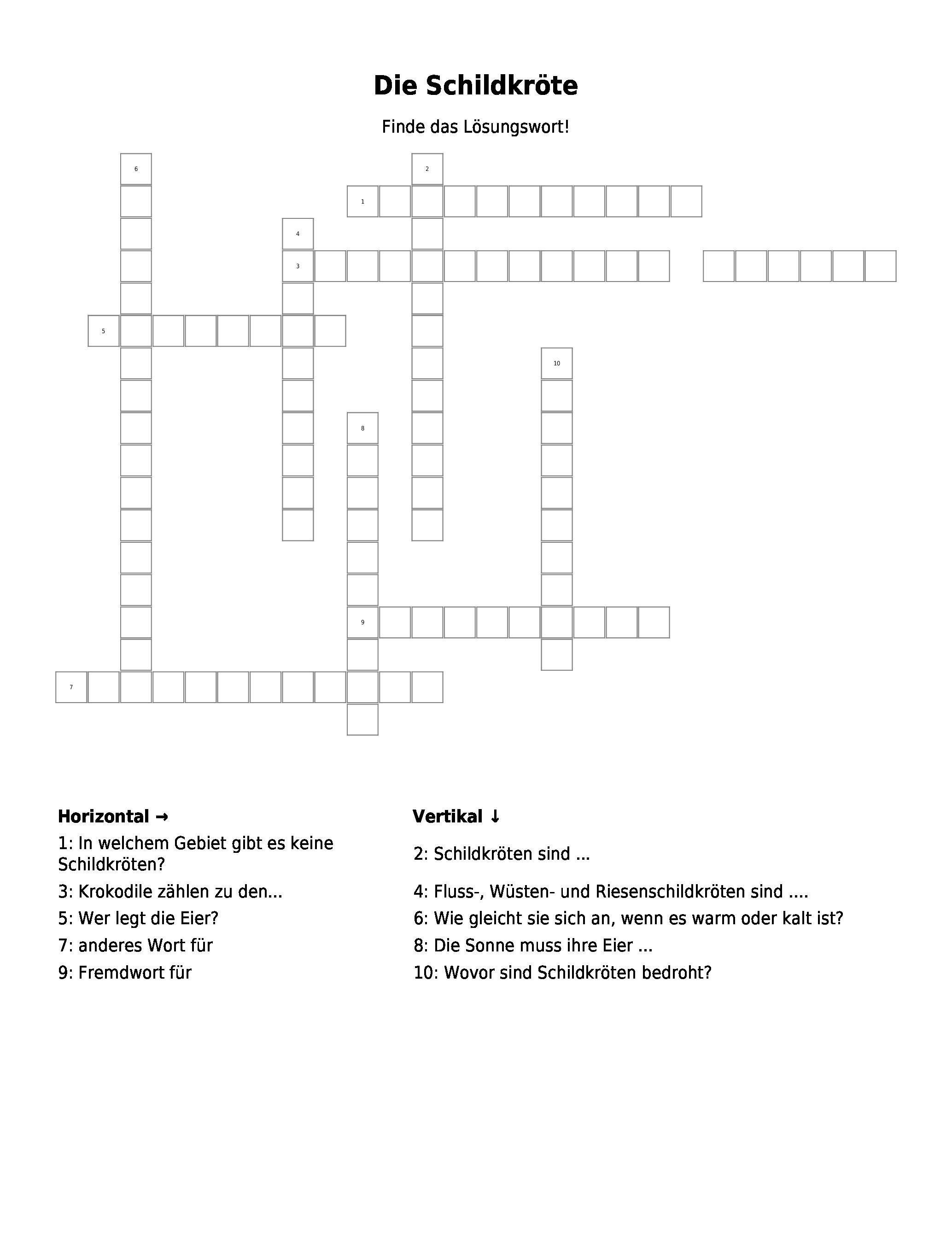 Kreuzworträtsel Hervorragend